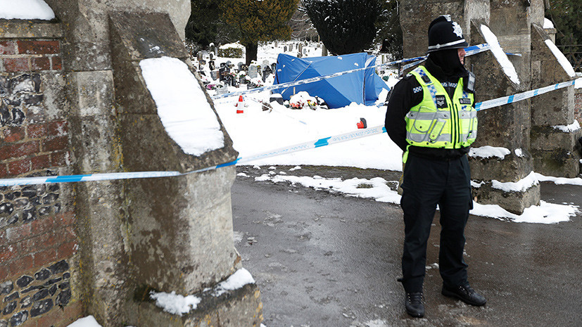 Пострадавший в Солсбери полицейский выписан из больницы