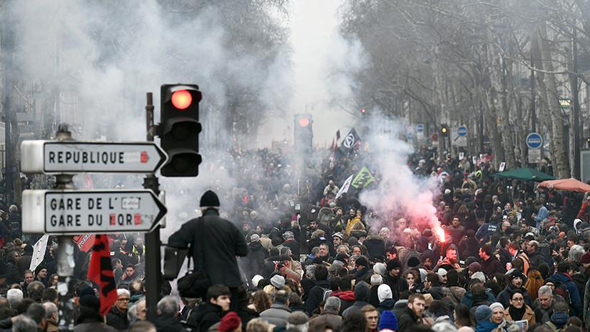 Испытание для президента: как непопулярные реформы Макрона могут сказаться на политической ситуации во Франции