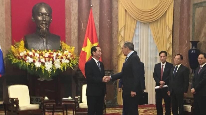 Президент Вьетнама пригласил Путина посетить страну