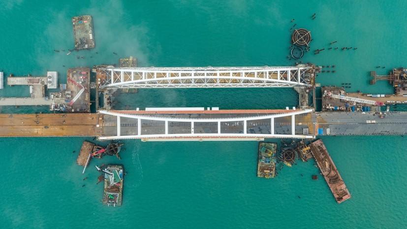 Вгосударстве Украина планируют заблокировать Крымский мост
