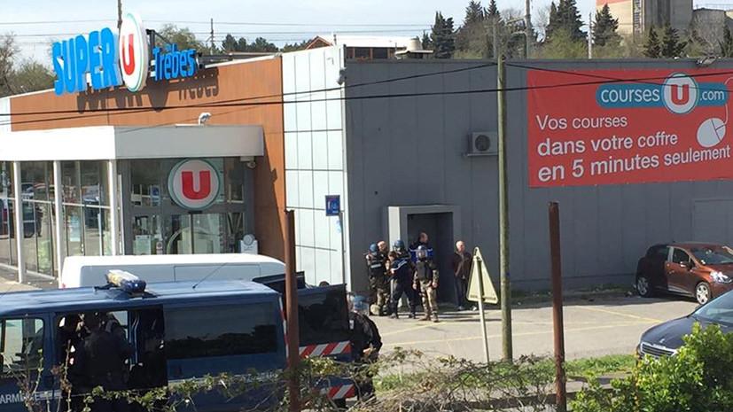СМИ: Захвативший заложников на юге Франции потребовал освободить террориста Абдеслама