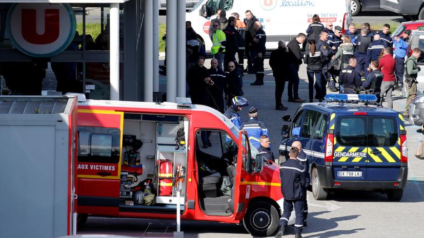 СМИ: ИГ взяло на себя ответственность за захват заложников во Франции