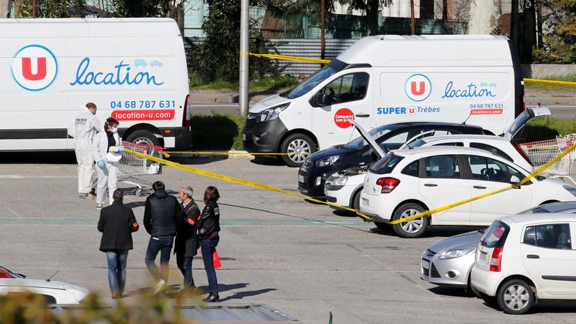 Захвативший заложников на юге Франции был известен полиции