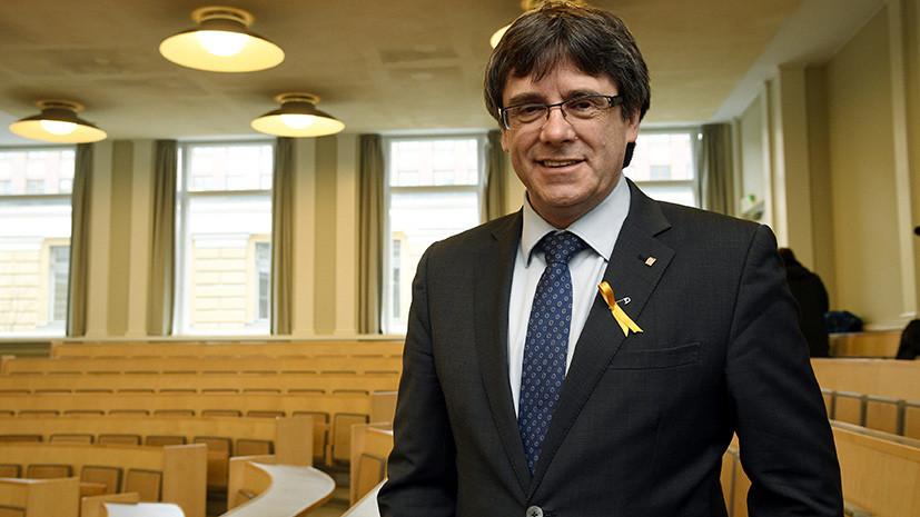 СМИ: Верховный суд Испании вновь выдал международный ордер на арест Пучдемона