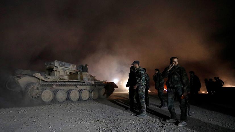 В Центре по примирению рассказали об обстрелах Дамаска боевиками