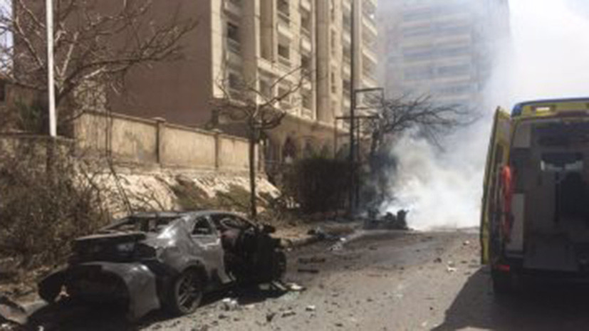 При взрыве в египетской Александрии погиб один человек