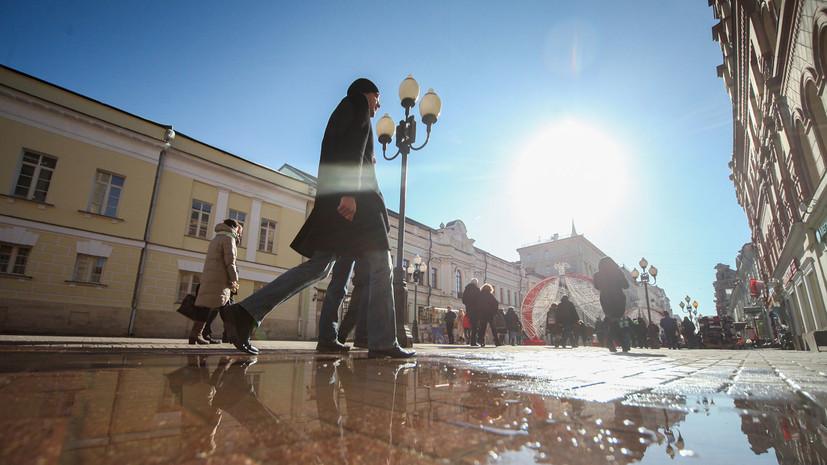 В Москве 25 марта ожидается до +3 °С