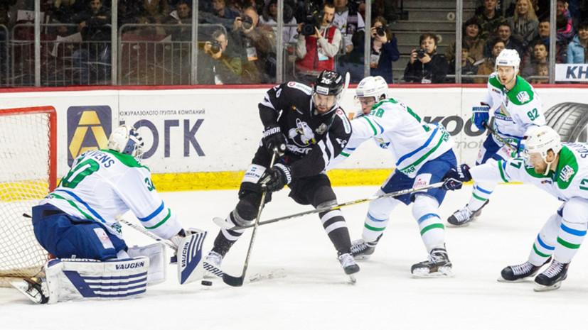«Трактор» разгромил «Салават Юлаев» и сравнял счёт в серии плей-офф КХЛ