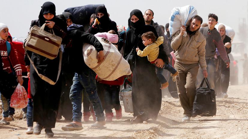Из Восточной Гуты с начала действия гуманитарных пауз вывели более 110 тысяч человек