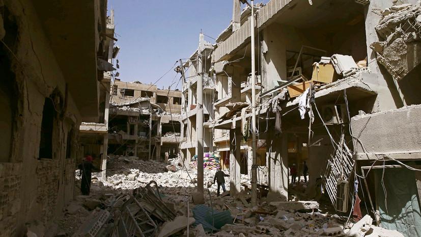 В Дамаске при обстреле со стороны боевиков погиб один человек и шестеро пострадали