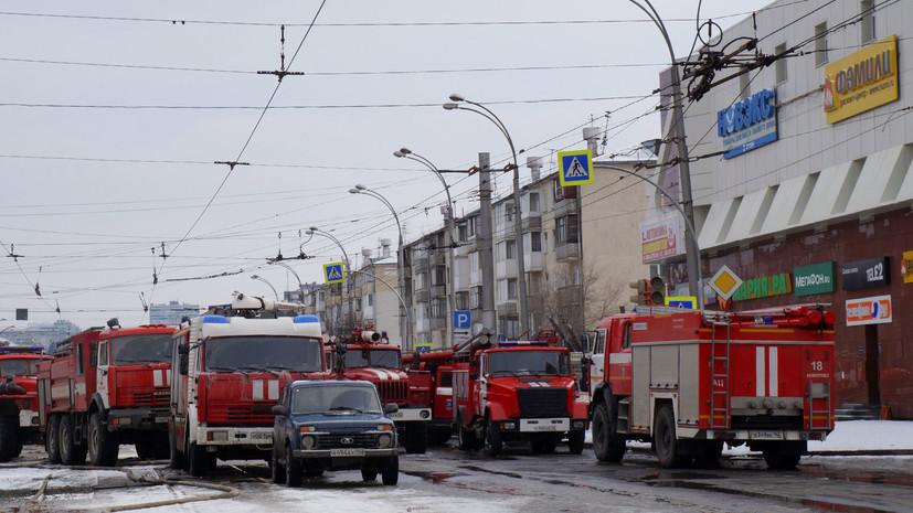 Число погибших при пожаре в ТЦ в Кемерове увеличилось до 64