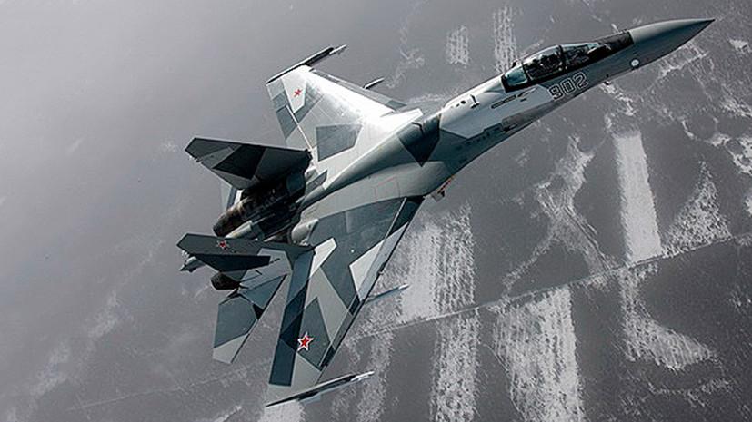 ИстребителиСу-35С отработали перебазирование на Южные Курилы
