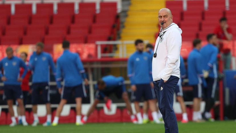 Черчесов рассказал, кто будет капитаном сборной России по футболу в матче с Францией