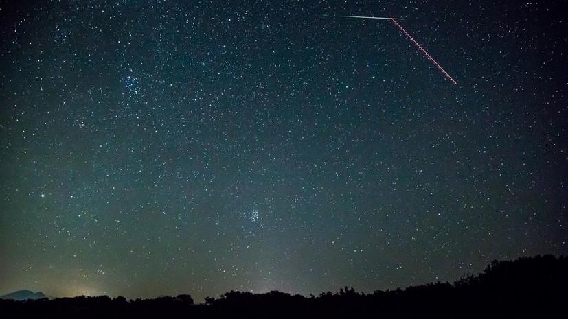 В планетарии назвали дату первого весеннего звездопада в Москве