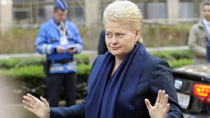 Литва назвала Россию главной угрозой национальной безопасности