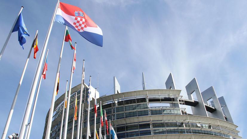 Хорватия объявила о высылке из страны одного российского дипломата