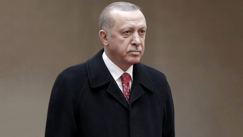 Эрдоган выразил соболезнования в связи с трагедией в Кемерове
