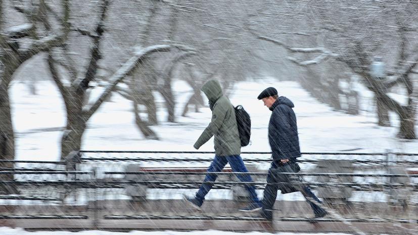 В Москве 27 марта ожидается до +2 °С