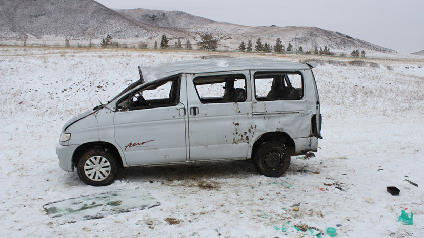 В Забайкальском крае в результате ДТП пострадали семь детей