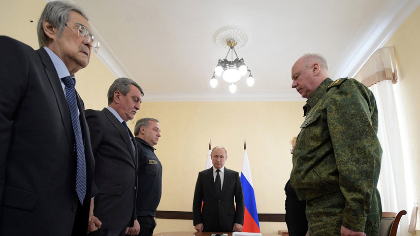 Тулеев извинился перед Путиным за трагедию в Кемерове