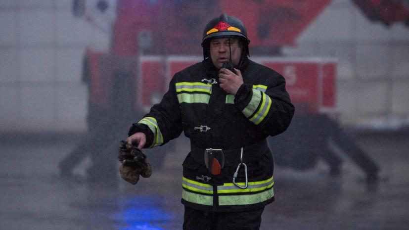 МЧС завершает поисковую операцию на месте пожара в Кемерове