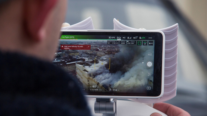 Свидетель подтвердил,что очаг пожара в ТЦ Кемерова находился в детской батутной яме