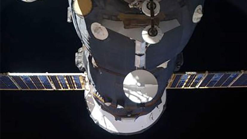 Грузовой корабль Прогресс МС-07 отстыкован от МКС