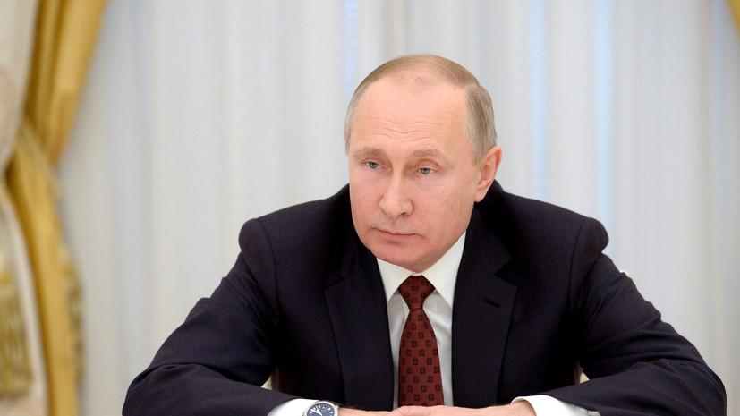Путин призвал не допустить паники после трагедии в Кемерове из-за вбросов в соцсетях