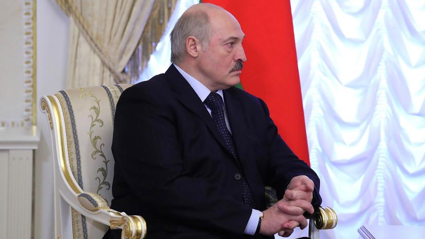 Лукашенко в разговоре с Путиным выразил соболезнования в связи с трагедией в Кемерове