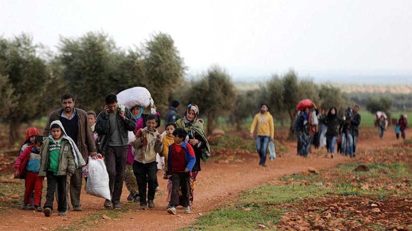 За время действия гуманитарных пауз из Восточной Гуты выведены около 130 тысяч человек
