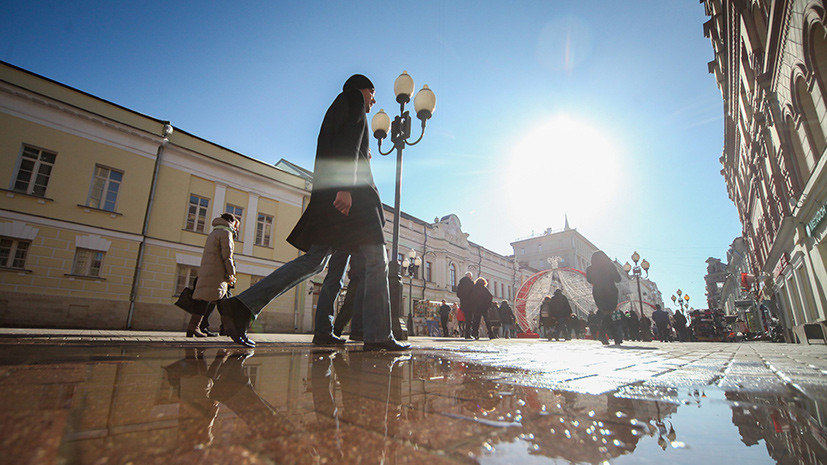 В Москве 29 марта ожидается до +1 °С