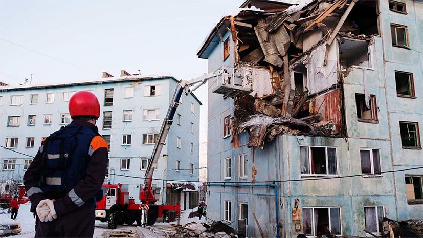 Подозреваемый по делу об обрушении дома в Мурманске скончался