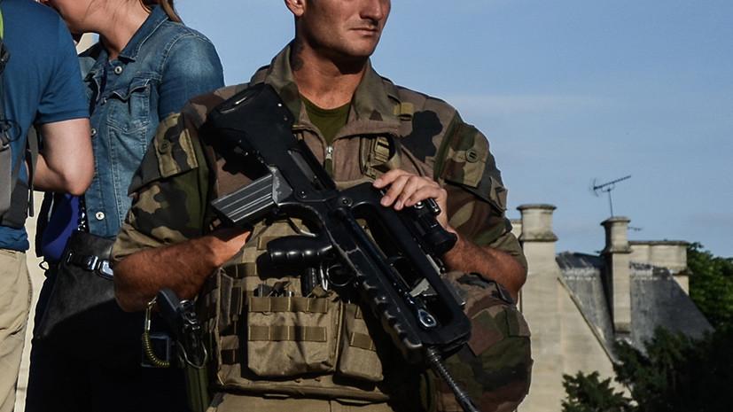 Во Франции неизвестный попытался на автомобиле сбить вышедших на пробежку военных