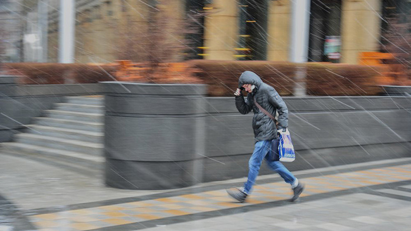 Первый весенний дождь ожидается в Москве 1 апреля