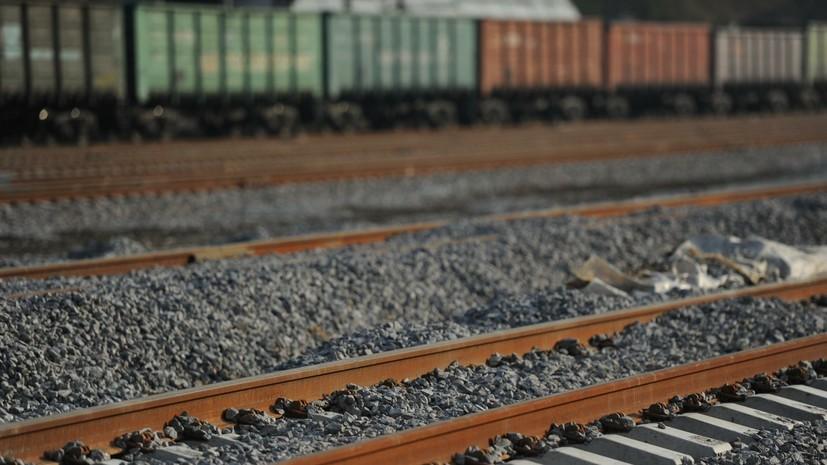 В Одесской области перевернулся частный грузовой поезд