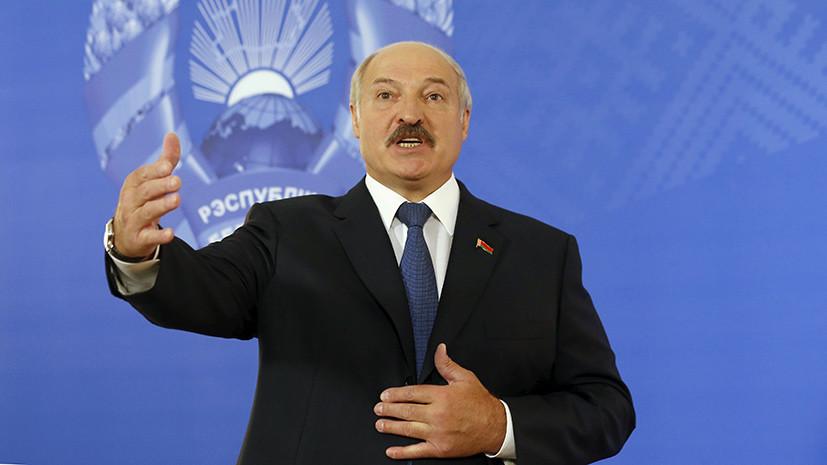 Лукашенко назвал сало лучшим допингом