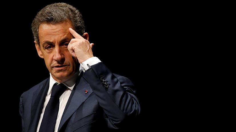 СМИ: Саркози предстанет перед судом по обвинению в коррупции и злоупотреблении влиянием