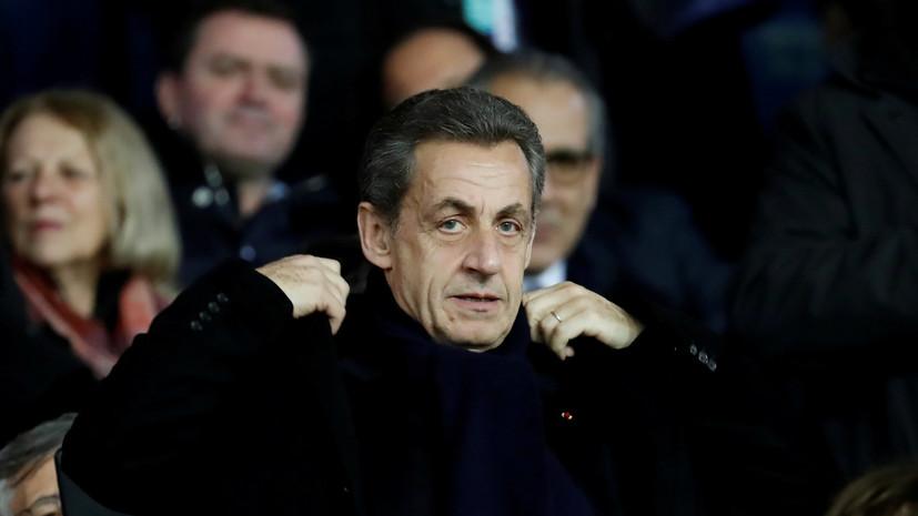 Саркози обжалует решение о возобновлении дела о коррупции против него