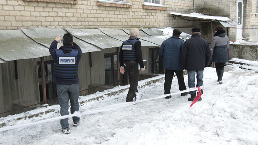 В ОБСЕ отметили снижение количества нарушений режима прекращения огня в Донбассе