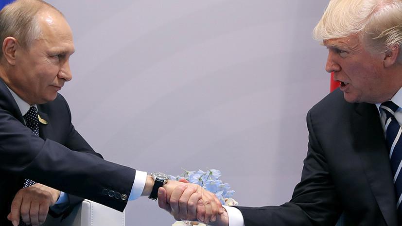 Источник: Трамп заявил Путину о победе США в случае начала гонки вооружений