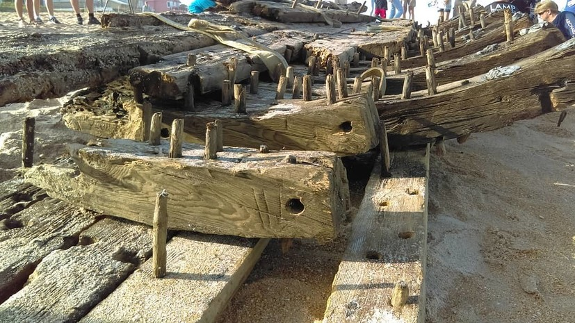 На береге воФлориде отыскали обломки корабля XVIII века