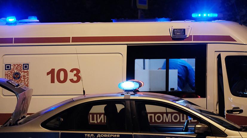 На Ставрополье четыре человека пострадали при опрокидывании автобуса