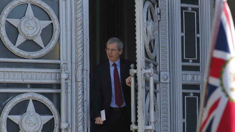 Посол Британии рассказал о теме разговора в МИД России