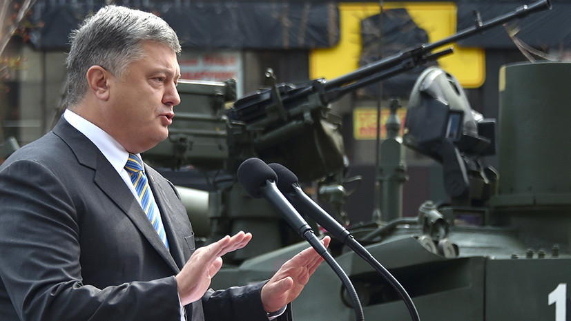 Порошенко: за время боевых действий в Донбассе пострадали 13 тысяч военных ВСУ