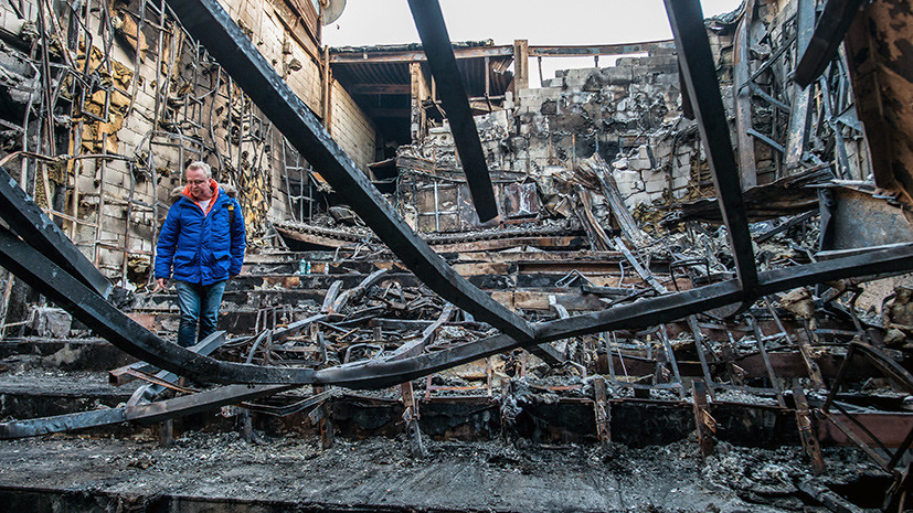 В Кемерове начата подготовка к разбору здания ТЦ «Зимняя вишня»
