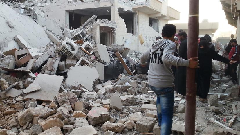 «Острое недовольство местных жителей»: как действия США в сирийской Ракке привели к гуманитарному кризису