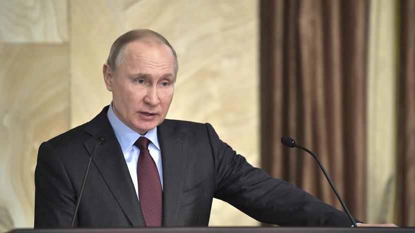 Путин подписал указ о начале весеннего призыва