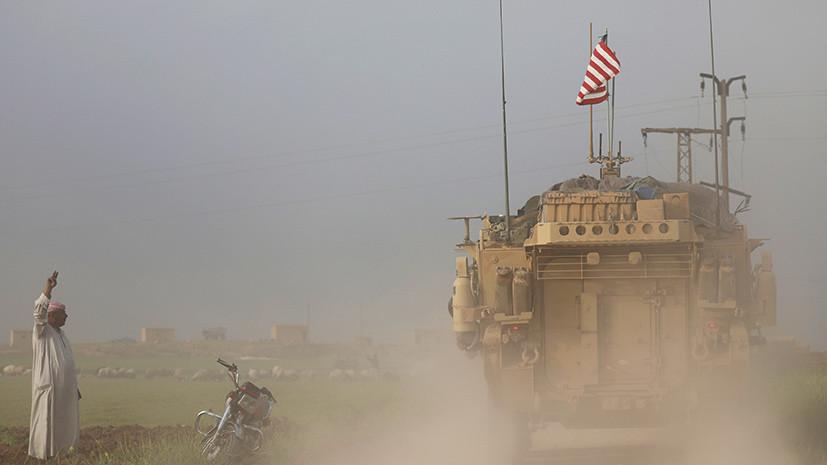 В Сирии погибли двое военных коалиции США