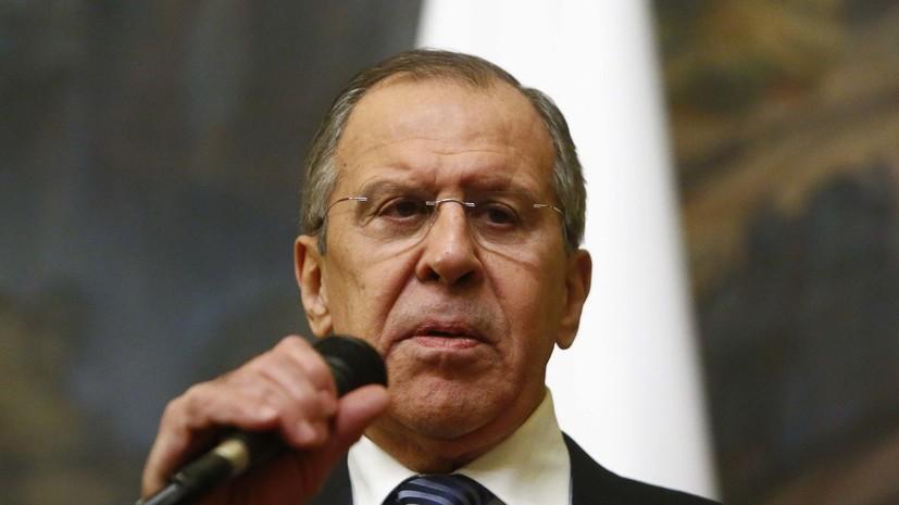Лавров и Чавушоглу обсудили российско-турецкие отношения