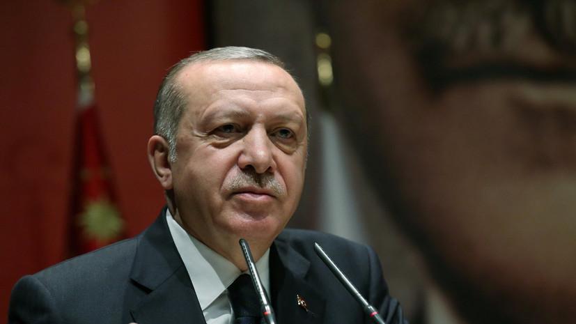 Эрдоган встретился с Климкиным